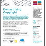 Have you ever wondered, is that legal? Come along to AIPP VIC Demystifying Copyright evening to find out!!